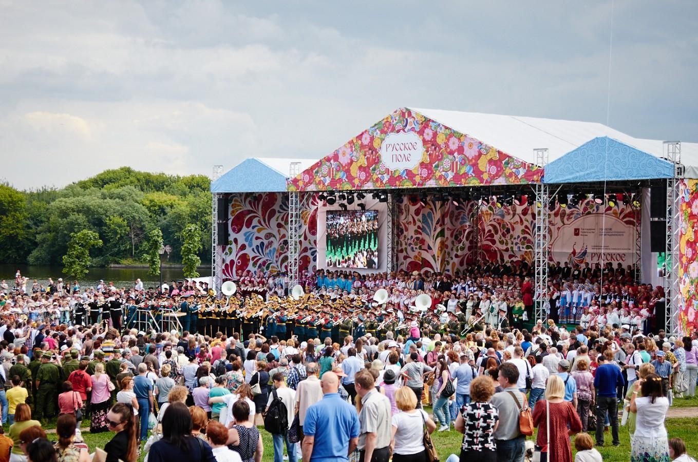 Фестиваль славянского искусства «Русское поле» познакомит гостей с особенностями и традициями российской культуры